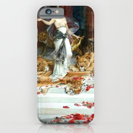 Wright Barker Circe Nyph Goddess Of Magic Witch Enchantress Turn Men Into Animals iPhone Case