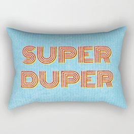 Super-Duper Rectangular Pillow