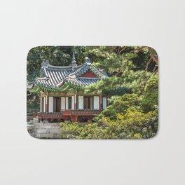 Buyongi Pond, Secret Garden, Changdeokgung Palace, Seoul Bath Mat