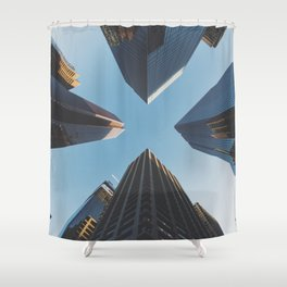 NYC Skyscrape Shower Curtain