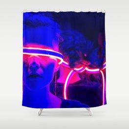 CYBERPUNK REALITY Shower Curtain