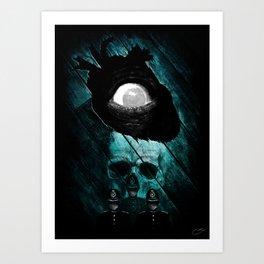 """""""The Tell-Tale Heart"""" - Edgar Allan Poe Series Art Print"""