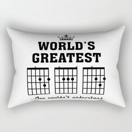 Unique Father's Day Gift Rectangular Pillow