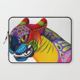 Oaxacan Big Cat Mini-Bust Laptop Sleeve