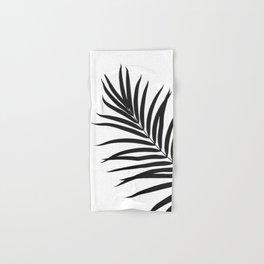Tropical Palm Leaf #1 #botanical #decor #art #society6 Hand & Bath Towel