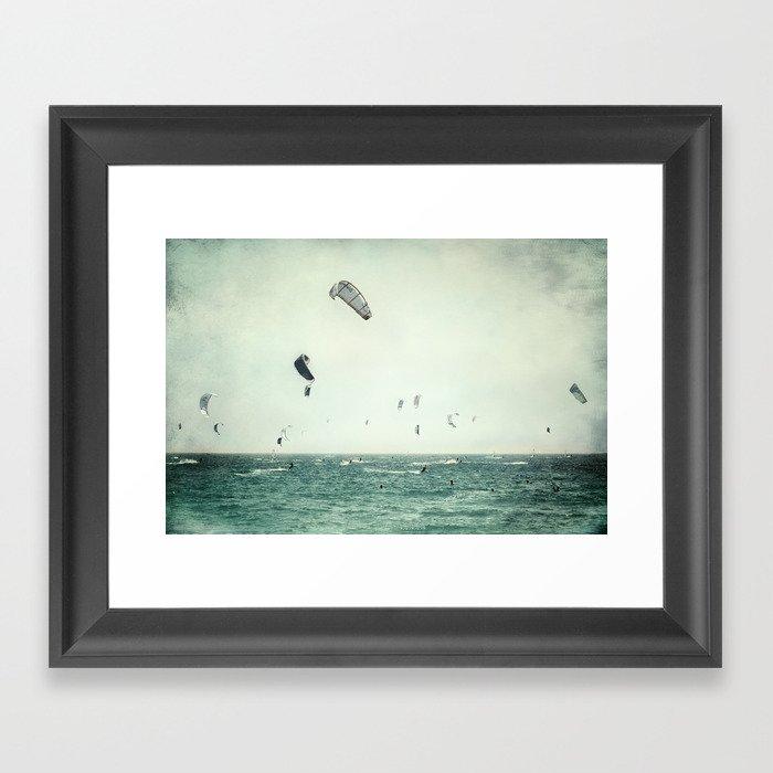 Tarifa beach Gerahmter Kunstdruck