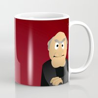 muppets Mugs featuring Statler & Waldorf - Muppets Collection by Bryan Vogel
