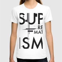 History of Art in Black and White. Suprematism T-shirt
