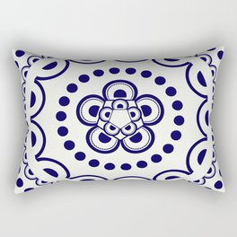 Indigo III Rectangular Pillow