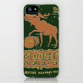 Moosey Malt iPhone Case