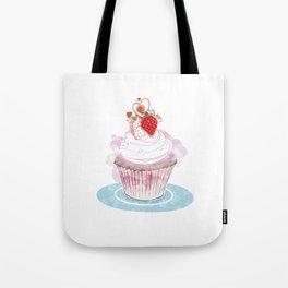 Strawberry Cupcake  Tote Bag