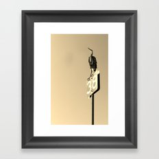 Number Thirty-Eight Framed Art Print
