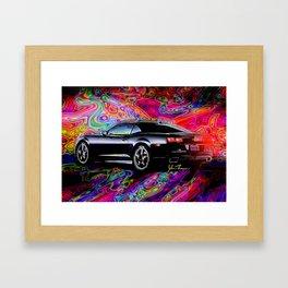 2012 Camaro Framed Art Print