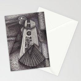 Robot bird Stationery Cards