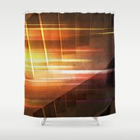 flash Shower Curtains featuring Flash by Photaugraffiti