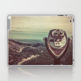 Wanderlust Vintage Tourist Binoculars Laptop & iPad Skin