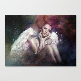 La constellation de la Vierge Canvas Print