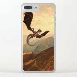 Flying Dragon Clear iPhone Case