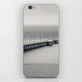 silent pier iPhone Skin