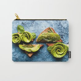 Avocado Foodie Art Carry-All Pouch