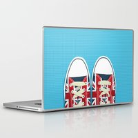 british Laptop & iPad Skins featuring Casual British by Matt Andrews