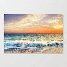 Sunset delight Canvas Print