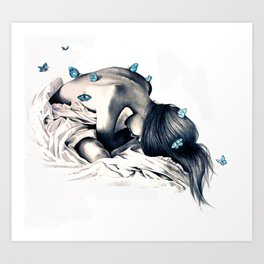 Bodysnatchers  Art Print