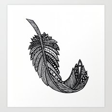 Feather 1 Art Print