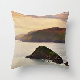 Slea Head in Kerry - Ireland  (RR247) Throw Pillow