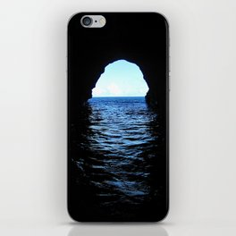 Don't be here at high tide iPhone Skin