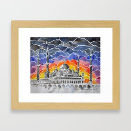 Masjid Kristal Mosque, Kuala Terengganu, Malaysia Framed Art Print