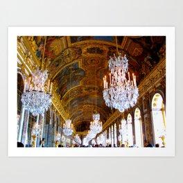 Versailles - Hall of Mirrors Art Print
