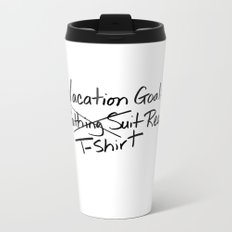 T-shirt Ready Metal Travel Mug