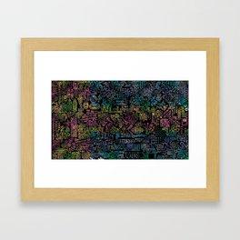 Penguin Oxide Framed Art Print