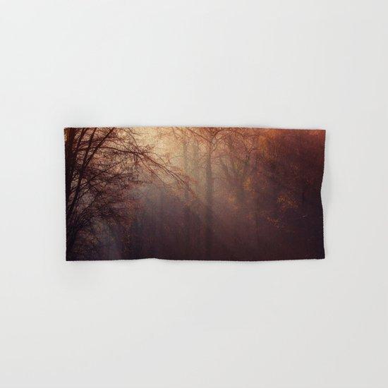 fall forest Hand & Bath Towel