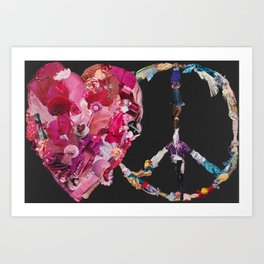 Song of Love and Peace Art Print