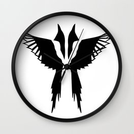 Pica and Pica Wall Clock