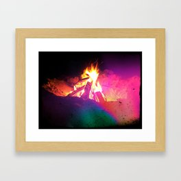 summer. Framed Art Print