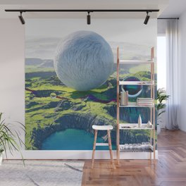 Furry Composition Wall Mural
