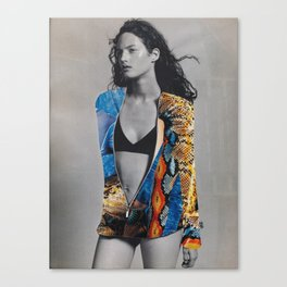 Tension in Full Colour Suit Canvas Print