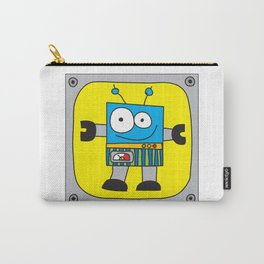 Rectangle Robot Carry-All Pouch