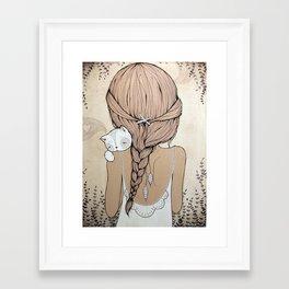 Stay Close Framed Art Print
