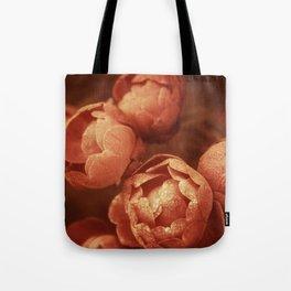 Bleached Blooms Tote Bag