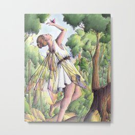 Dancing fairy Metal Print