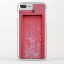 Door of Life Clear iPhone Case