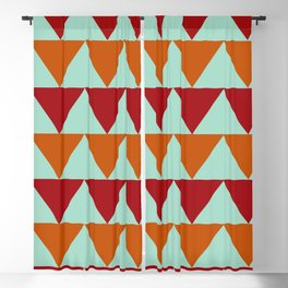 Fall Bold Colors Blackout Curtain