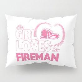 Fireman Lover Pillow Sham