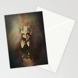 The queen of roses Stationery Cards