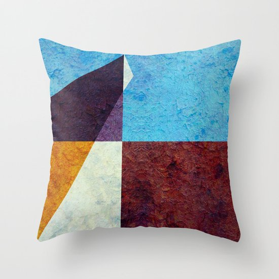 The Walk Home Throw Pillow