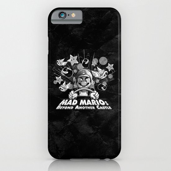 Mad Mario: Beyond Another Castle iPhone & iPod Case